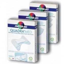 Master Aid - Cerotto Master-aid Quadra Dermoattivo Grande 10 Pezzi - 901038846