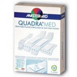 Master Aid - Cerotto Master-aid Quadra Dermoattivo Formati Assortiti 40 Pezzi - 901039394