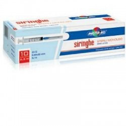 Master Aid - Siringa Per Venipuntura Master-aid 2,5 Ml 10 Gauge 23 Pezzi - 930378652