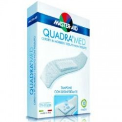- Cerotto Master-aid Quadra Dermoattivo Medio 10 Pezzi - 901038810