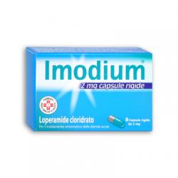 Johnson & Johnson - Imodium 2 mg - 8 Capsule - 023673066