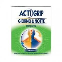 Johnson & Johnson - Actigrip Giorno&notte12+4cpr - 035400023