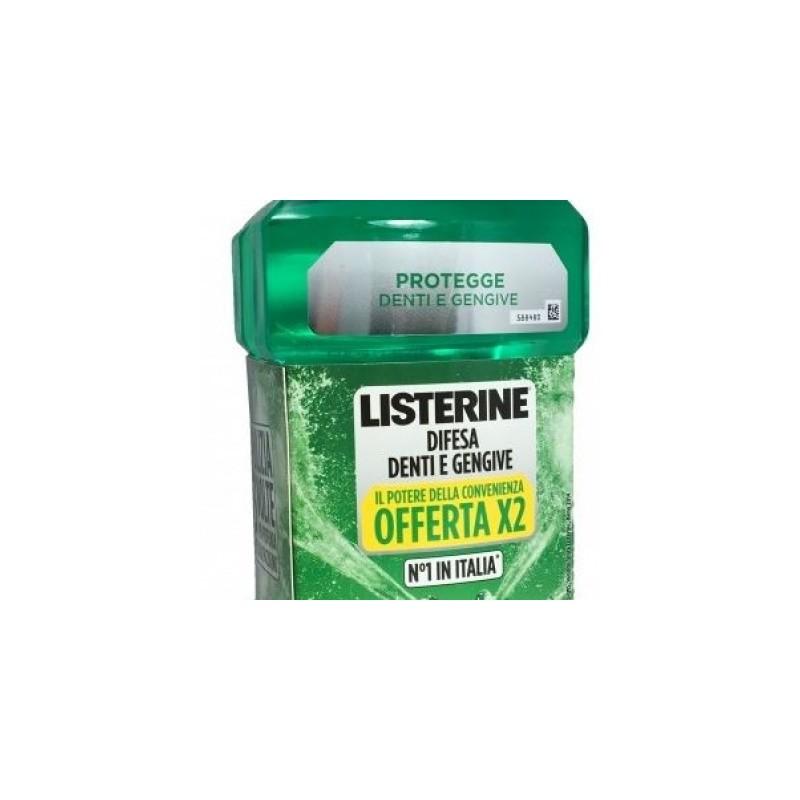 Listerine Difesa Denti E Gengive Bundle 2 X 500 Ml