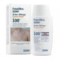 Isdin - Foto Ultra Isdin Solar Allergy Fusion Fluid Spf 100+ 50 ml - 932680414