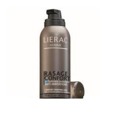 Lierac Homme Rasage Confort Gel Idratante Protettivo Antirritazioni 150 Ml