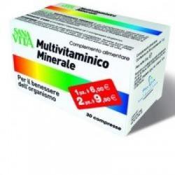 Sanavita - Sanavita Multivitaminico Minerale 30 Compresse - 923130381