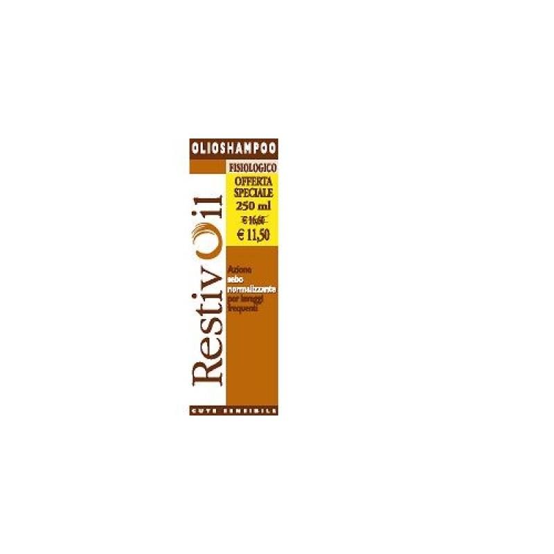 Restivoil Olioshampoo Lavaggi Frequenti Sebonormalizzante 250 Ml