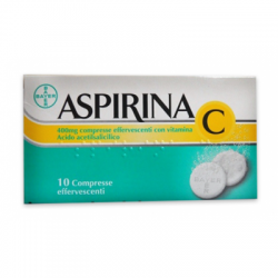 Bayer Spa - Aspirina C 10 compresse effervescenti 400+240mg - 004763114