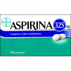 Bayer Spa - Aspirina 10cpr 325mg - 004763254