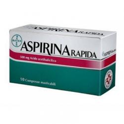 Bayer Spa - Aspirina Rapida10cprmast500m - 004763379