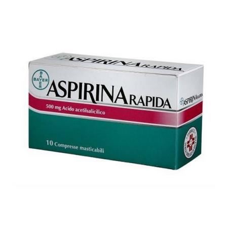 Aspirina Rapida10cprmast500m