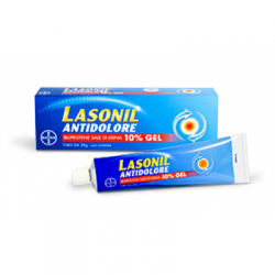 - Lasonil Antidolore Gel50g10% - 042154017