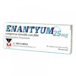 Menarini - Enantyum 20 compresse rivestite 25mg - 033656036