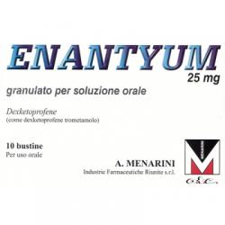 Menarini - Enantyum 10 bustine Orosolubili Granulato 25mg - 033656214