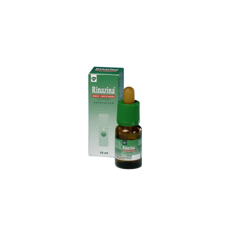 GSK - Rinazina Adulti Gocce Nasali 10ml 10mg 0,1% - 000590012