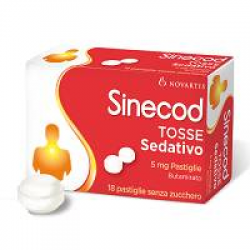 GSK - Sinecod Tosse Sed 18past 5mg - 021483096