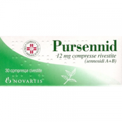 Novartis - Pursennid 30 compresse Rivestite 12mg - 004758049