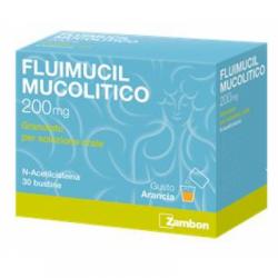 Zambon - Fluimucil Mucolitico Soluzione Orale 30 bustine 200 mg - 034936031