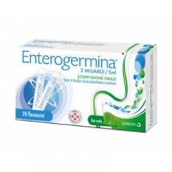 Sanofi - Enterogermina 2 Miliardi/5 ml - 20 Flaconcini - 013046040