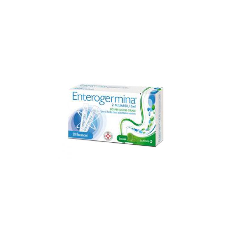 Enterogermina 2 Miliardi/5 ml - 20 Flaconcini