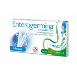 Sanofi - Enterogermina 2 Miliardi/5 ml - 10 Flaconcini - 013046038