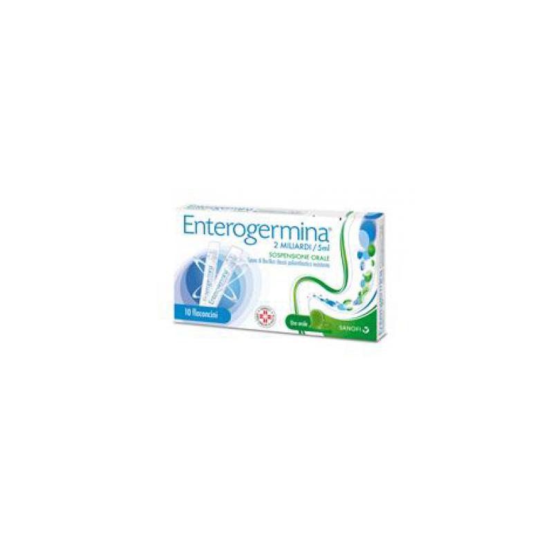 Enterogermina 2 Miliardi/5 ml - 10 Flaconcini