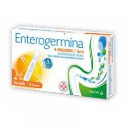 Sanofi - Enterogermina 4 Miliardi/5 ml - 10 Flaconcini - 013046077