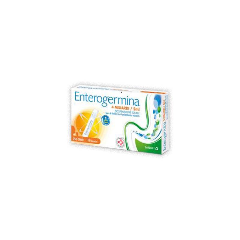 Enterogermina 4 Miliardi/5 ml - 10 Flaconcini