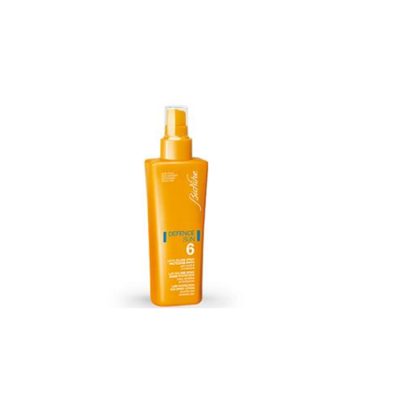 Defence Sun Bionike Latte Spray Spf 6 Protezione Bassa 125 Ml