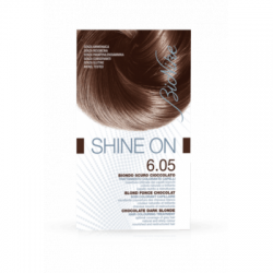 Bionike - Shine On Biondo Scuro Cioccolato 6.05 无添加植物配方染发剂 6.05 巧克力深金黄色 - 926045675