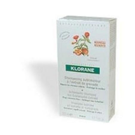 Klorane Shampoo melograno 200ml - capelli colorati