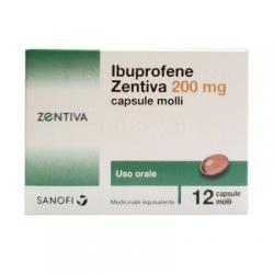 Sanofi - Ibuprofene Zentiva 12 Compresse 200mg - 043555010