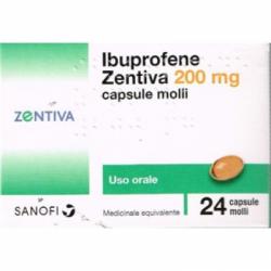 Sanofi - Ibuprofene Zentiva 24 Compresse 200mg - 043555022