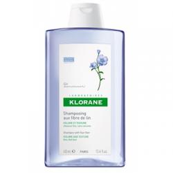 Klorane - Klorane Shampoo Fibre Lino 400 Ml - 934557164