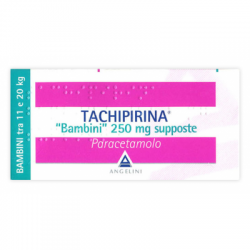 Angelini - Tachipirina Bambini 10 Supposte 250mg - 012745042