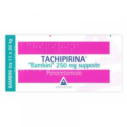 Angelini - Tachipirina Bambini 10 Supposte 250mg - 012745042