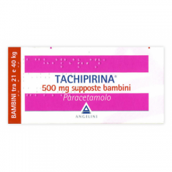 Bayer - Tachipirina Bambini 10 Supposte 500mg - 012745055