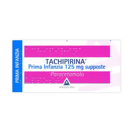 Tachipirina Prima Infanzia 10 Supposte 125mg