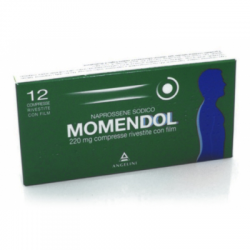 Angelini - Momendol 12 Compresse Rivestite 220mg - 025829084