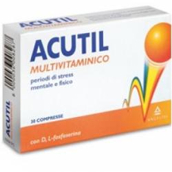 Angelini - Acutil Multivitaminico 30 Compresse - 906852280