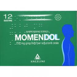 Angelini - Momendol Os Grat 12bust220mg - 025829122