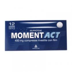 Angelini - Momentact 12 Compresse Rivestite 400mg - 035618026