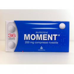 Angelini - MOMENT 200 MG IBUPROFENE 36 COMPRESSE RIVESTITE - 025669185