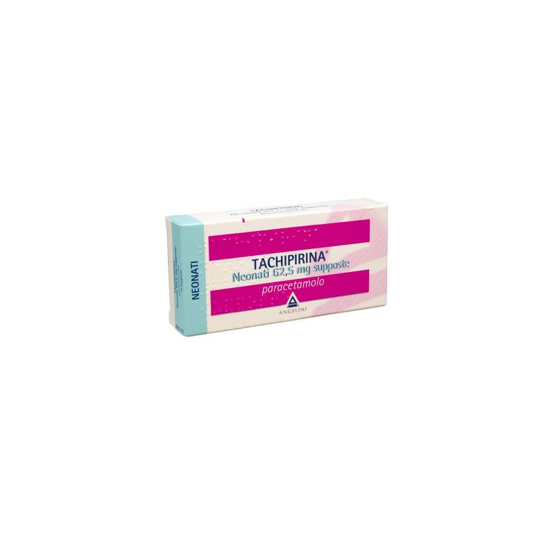 Tachipirina Neonati 10 supposte 62,5mg