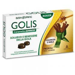 Angelini - Body Spring Golis Caramelle Liquirizia/miele 15 Pezzi - 934364112