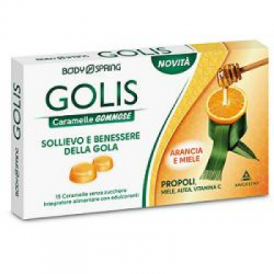 Angelini - Body Spring Golis Caramelle Arancia/miele 15 Pezzi - 934364124