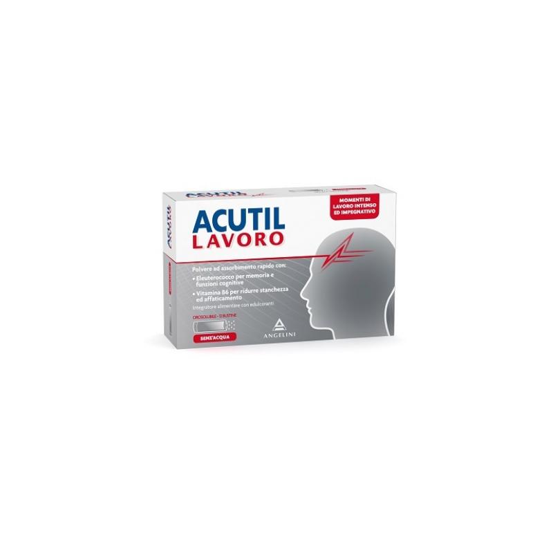 Acutil Lavoro 12 Bustine Da 1,2 G