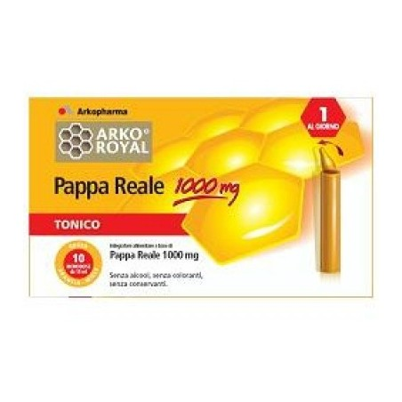 Pappa Reale Pack 1000 Mg 20 Fiale