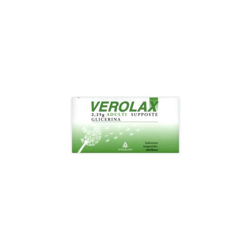 Angelini - Verolax Adulti 18 supposte da 2,25g - 026525093