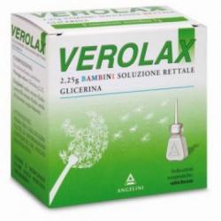 Angelini - Verolax Bambini soluzione rettale 6 clismi 2,25g - 026525042